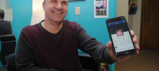 Steve Proulx, réseaux sociaux, Facebook, article, Progrès, Coaticook